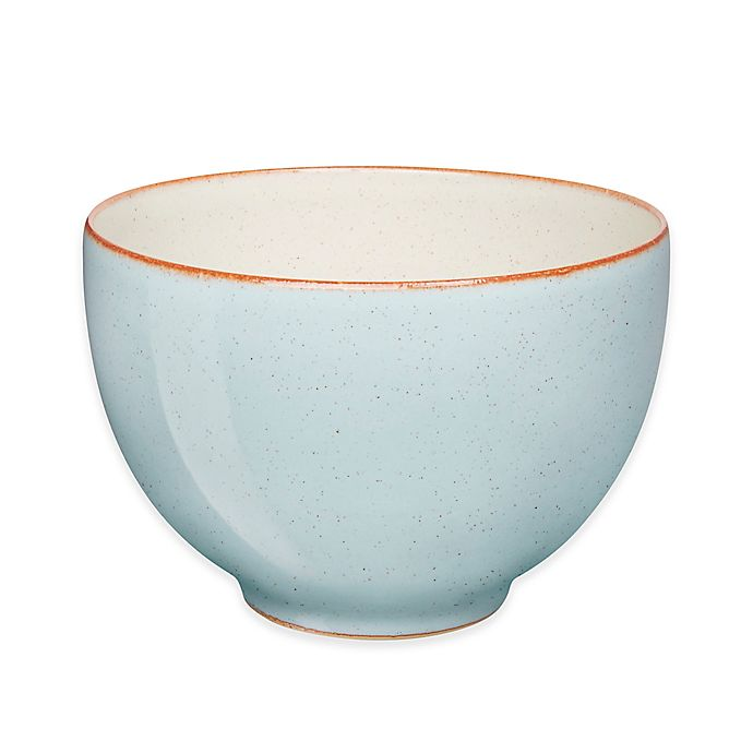 Alternate image 1 for Denby Heritage Pavilion Noodle Bowl in Blue