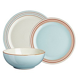 Denby Heritage Pavilion 12-Piece Dinnerware Set in Blue
