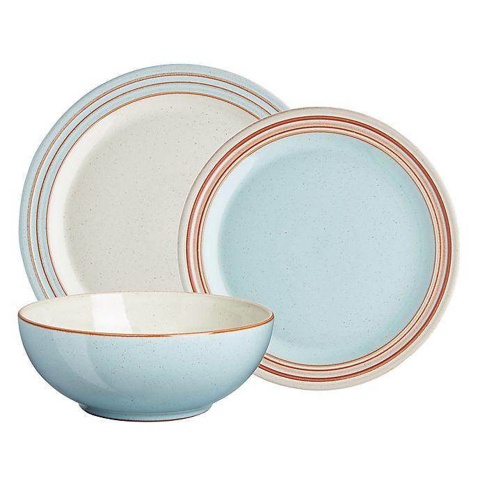 Alternate image 1 for Denby Heritage Pavilion 12-Piece Dinnerware Set in Blue