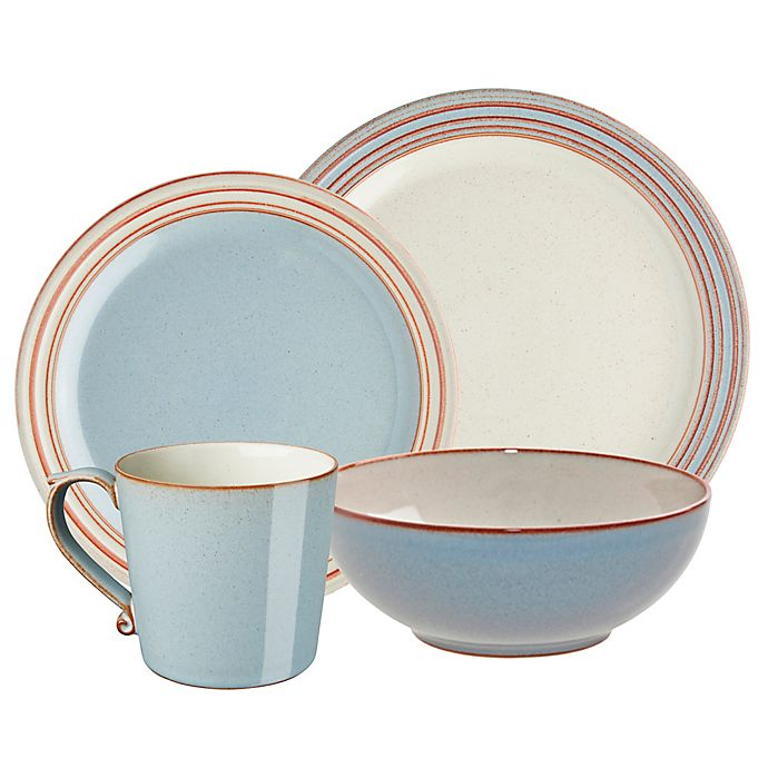 Alternate image 1 for Denby Heritage Terrace Dinnerware Collection in Grey