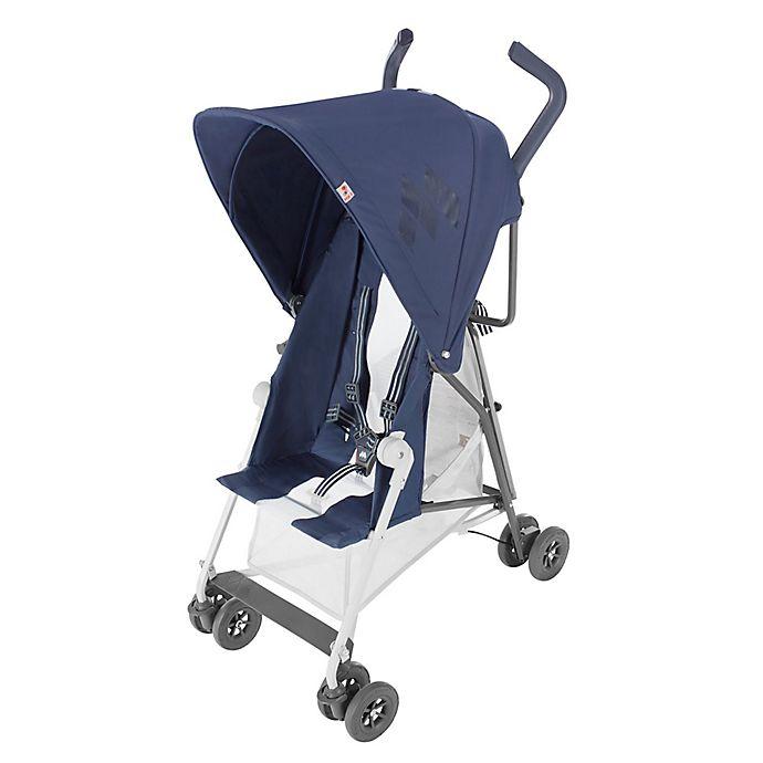 Maclaren 174 Mark Ii Stroller With Recline In Navy Buybuy Baby