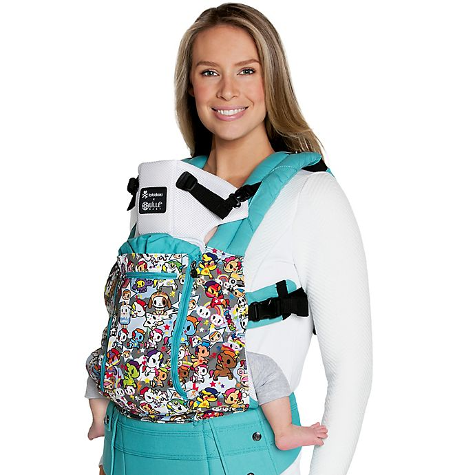 9864124139c Lillébaby® Complete™ All Seasons Tokidoki Unicorno Baby Carrier in Turquoise