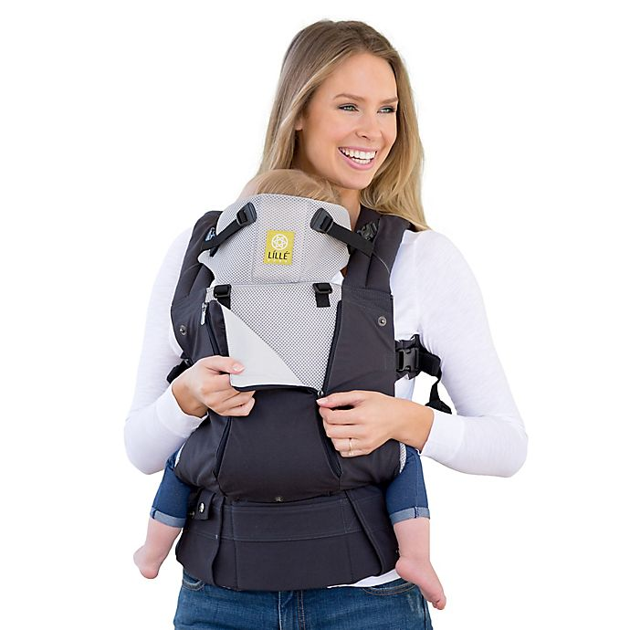 673d88153b5 lillebaby® COMPLETE™ ALL SEASONS Baby Carrier in Charcoal Silver ...