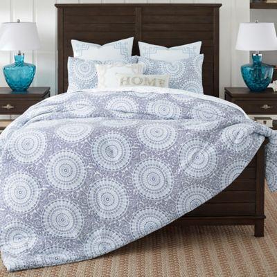 Coastal Living 174 Floral Medallion Comforter Set Bed Bath