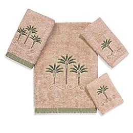 Avanti Premier Palm Beach Linen 100% Egyptian Cotton Towel Collection