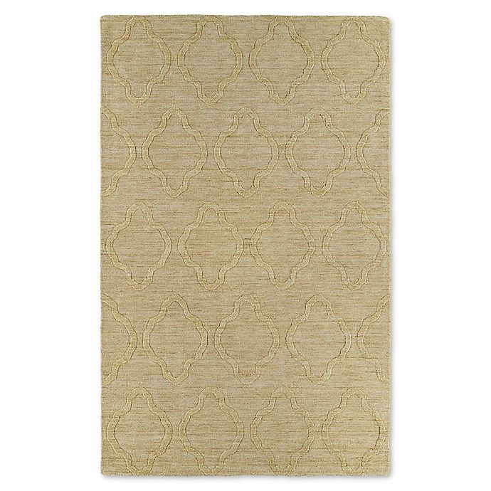 Alternate image 1 for Kaleen Imprints Modern Madrid 9-Foot 6-Inch x 13-Foot 6-Inch Area Rug in Yellow
