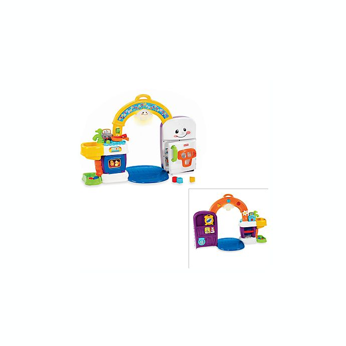 Fisher Price Learning Kitchen: Fisher Price® Laugh & Learn™ 2-in-1 Learning Kitchen