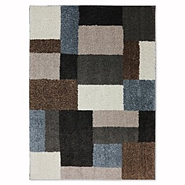 Mohawk Home Huxley Franklin Rug in Grey/Black