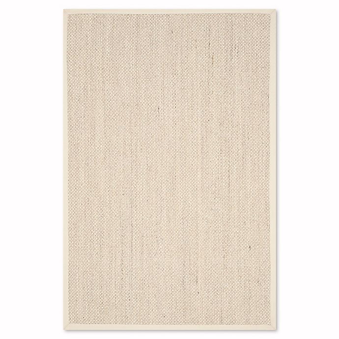 Alternate image 1 for Safavieh Natural Fiber Olivia 2-Foot 6-Inch x 4-Foot Accent Rug in Marble/Beige