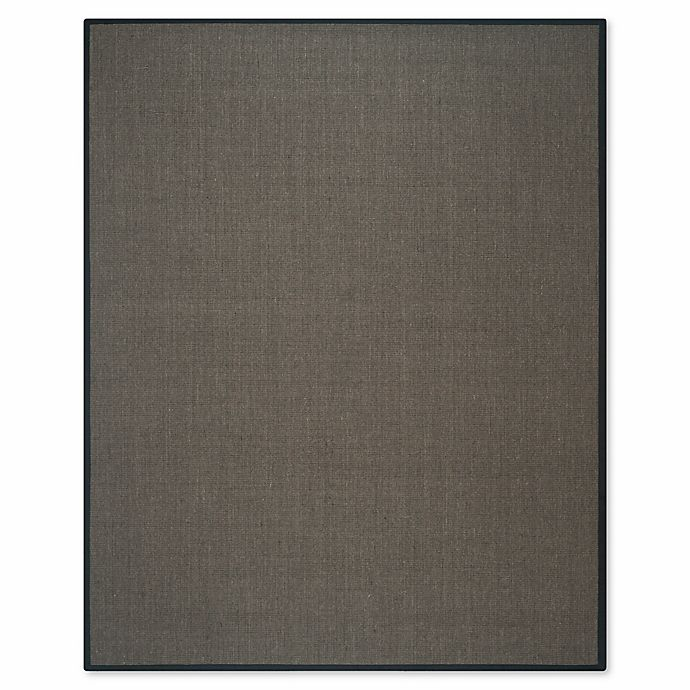 Alternate image 1 for Safavieh Natural Fiber Madeline 9-Foot x 12-Foot Area Rug in Charcoal/Charcoal