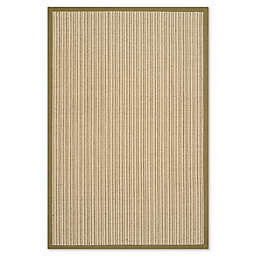 Safavieh Natural Fiber Courtney 4-Foot x 6-Foot Area Rug in Green