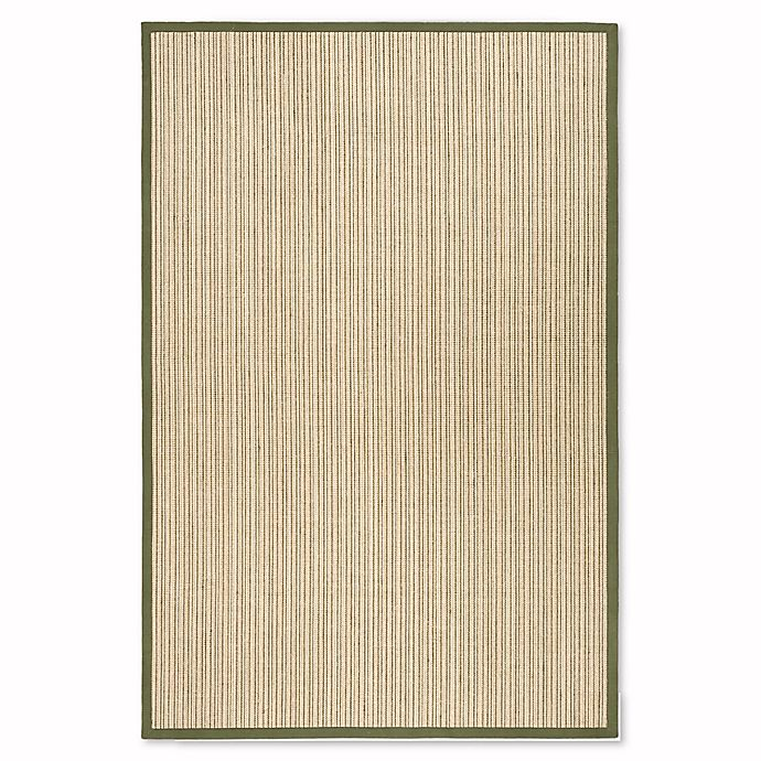 Alternate image 1 for Safavieh Natural Fiber Courtney 6-Foot x 9-Foot Area Rug in Green