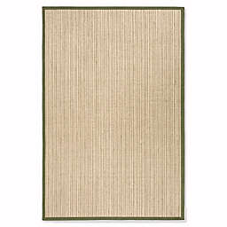 Safavieh Natural Fiber Courtney 6-Foot x 9-Foot Area Rug in Green