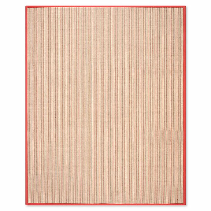 Alternate image 1 for Safavieh Natural Fiber Courtney 7-Foot 6-Inch x 9-Foot 6-Inch Area Rug in Rust