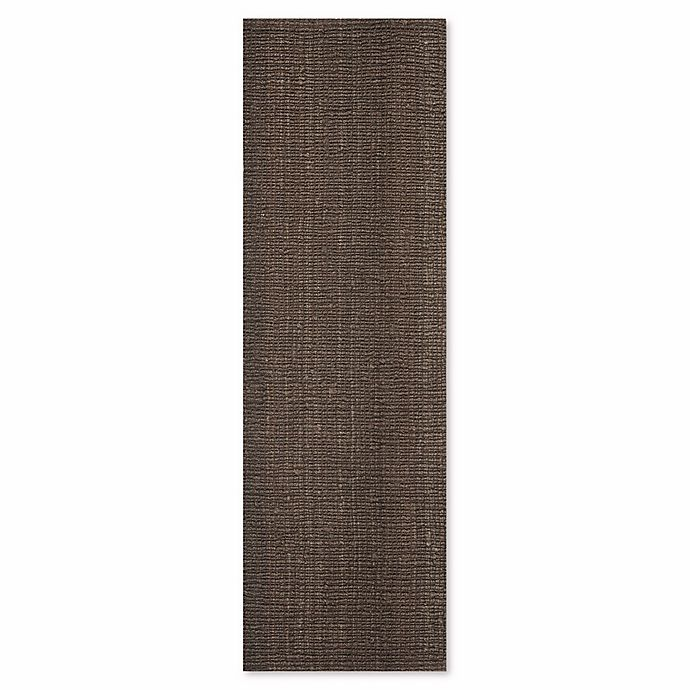 Alternate image 1 for Safavieh Natural Fiber Mallory 2-Foot 6-Inch x 10-Foot Runner in Brown