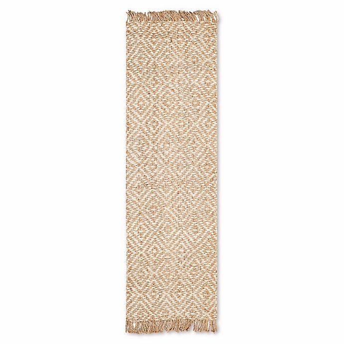 Alternate image 1 for Safavieh Natural Fiber Brie 2-Foot 6-Inch x 8-Foot Runner in Natural/Ivory