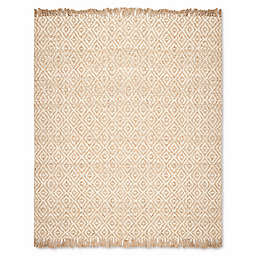 Safavieh Natural Fiber Brie 9-Foot x 12-Foot Area Rug in Natural/Ivory