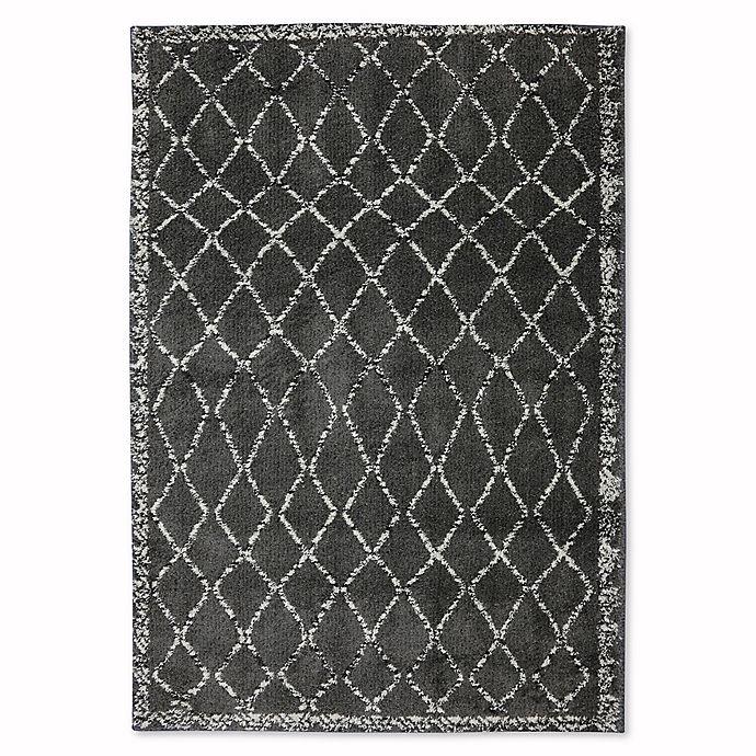 Alternate image 1 for Mohawk Home Huxley Fresno Rug in Grey/Black