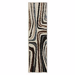 Mohawk Home Huxley Salem 2-Foot x 7-Foot 10-Inch Runner in Ivory