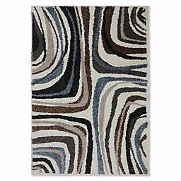 Mohawk Home Huxley Salem 5-Foot x 7-Foot Area Rug in Ivory
