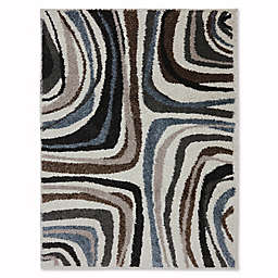 Mohawk Home Huxley Salem 6-Foot 6-Inch x 10-Foot Area Rug in Ivory