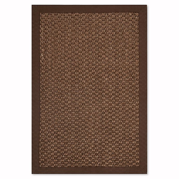 Alternate image 1 for Safavieh Natural Fiber Shannon 2-Foot x 3-Foot Accent Rug in Chocolate