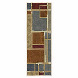 Mohawk Home Soho Regnar 1-Foot 8-Inch x 5-Foot Multicolor Runner