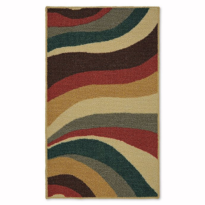 Alternate image 1 for Mohawk Home Soho Wave Impression 1-Foot 6-Inch x 2-Foot 6-Inch Multicolor Accent Rug