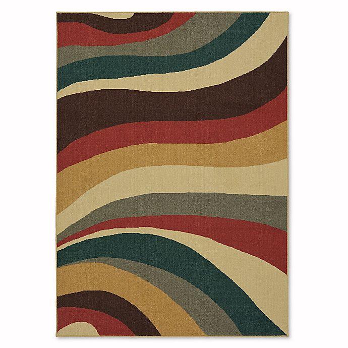 Alternate image 1 for Mohawk Home Soho Wave Impression Multicolor Rug