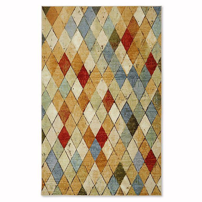 Alternate image 1 for Mohawk Home® Strata Argyle Multicolor Area Rug