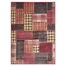 Safavieh Vintage Patchwork Panel 8-Foot x 11-Foot 2-Inch Area Rug in Rose/Multi