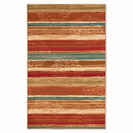 Mohawk Home Soho Mumbai Rainbow 7-Foot 6-Inch x 10-Foot Multicolor Area Rug
