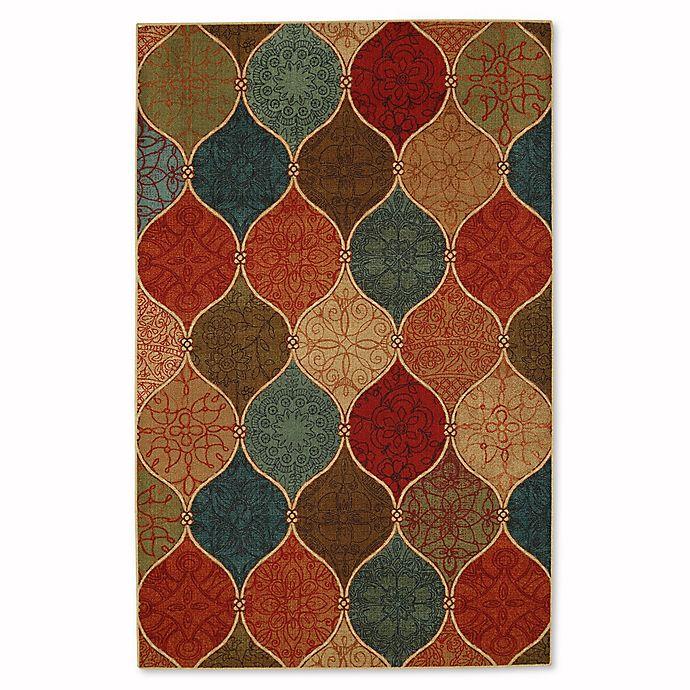 Alternate image 1 for Mohawk Home Soho Riza Tile Fret 7_Foot 6-Inch x 10-Foot Multicolor Area Rug