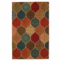 Mohawk Home Soho Riza Tile Fret 7_Foot 6-Inch x 10-Foot Multicolor Area Rug