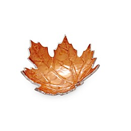 Julia Knight® Luxe Lodge Maple Leaf Petite Bowl in Spice