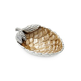 Julia Knight® Luxe Lodge Pine Cone Petite Bowl in Toffee