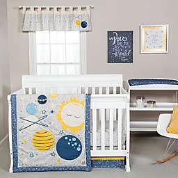 Trend Lab® Galaxy 4-Piece Crib Bedding Set in Blue/Yellow