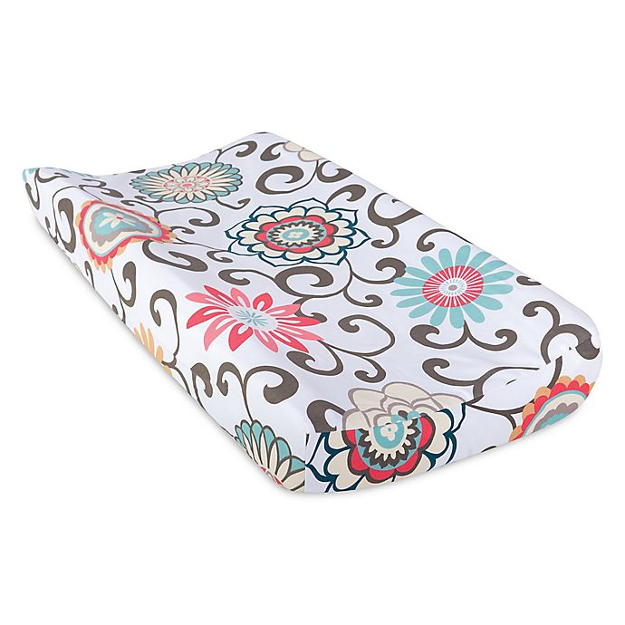 Alternate image 1 for Waverly® Baby by Trend Lab® Pom Pom Play Changing Pad