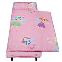 Olive Kids Fairy Princess 100% Cotton Nap Mat in Pink