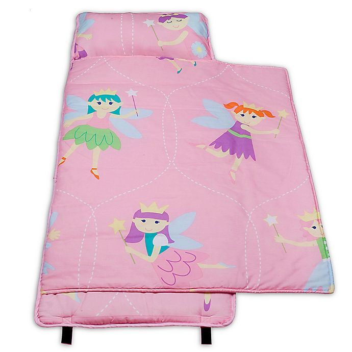 Alternate image 1 for Olive Kids Fairy Princess 100% Cotton Nap Mat in Pink