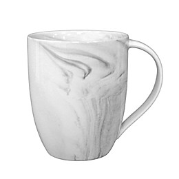 Artisanal Kitchen Supply® Coupe Marbleized Mugs in Grey (Set of 4)