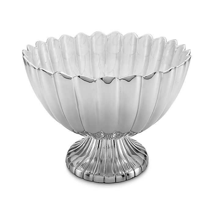 Alternate image 1 for Julia Knight® Peony 14.5-Inch Pedestal Gala Bowl in Snow