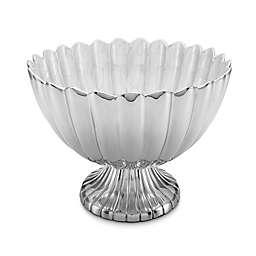 Julia Knight® Peony 14.5-Inch Pedestal Gala Bowl in Snow