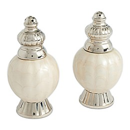 Julia Knight® Peony Salt and Pepper Shakers in Snow