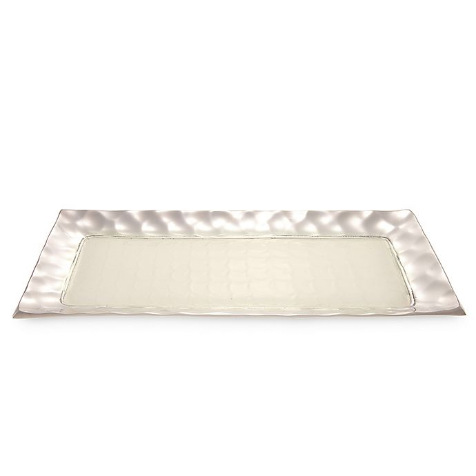 Alternate image 1 for Julia Knight® Diamond 17.25-Inch Rectangular Tray