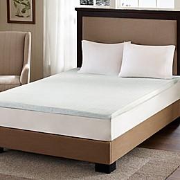 Flexapedic by Sleep Philosophy 2-Inch Gel Memory Foam Twin XL Mattress Topper in White