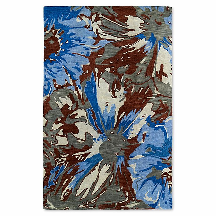 Alternate image 1 for Kaleen Brushstrokes Floral 9-Foot 6-Inch x 13-Foot Multicolor Area Rug