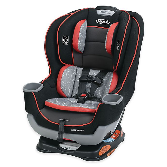 Alternate image 1 for Graco® Extend2Fit™ Convertible Car Seat in Solar™