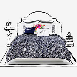 kate spade new york Eyelet Medallion Duvet Cover Set