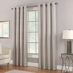 Waterfall Grommet Top Window Curtain Panel